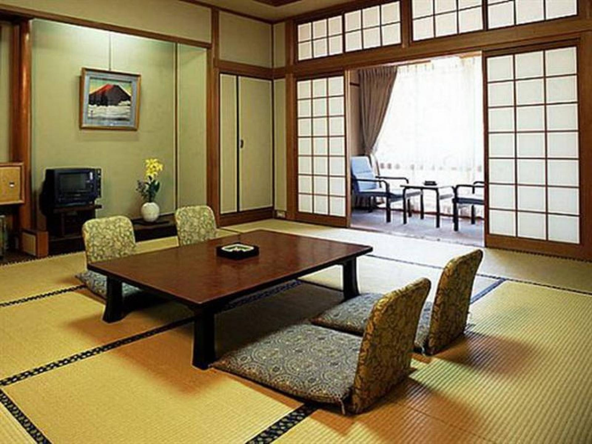 Magnificent Walnut Wooden Long Rectangle Japanese Dining Table Within Low Japanese Style Coffee Tables (View 22 of 30)