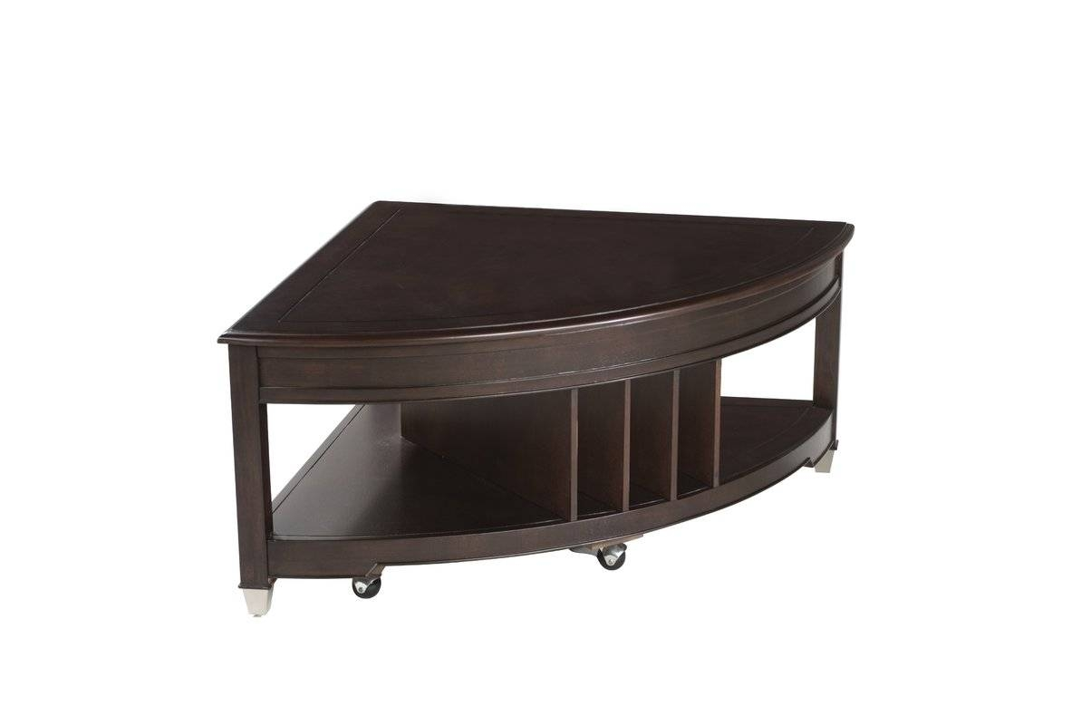 Magnussen Darien Coffee Table With Magazine Rack & Reviews | Wayfair within Coffee Tables With Magazine Rack (Image 10 of 30)