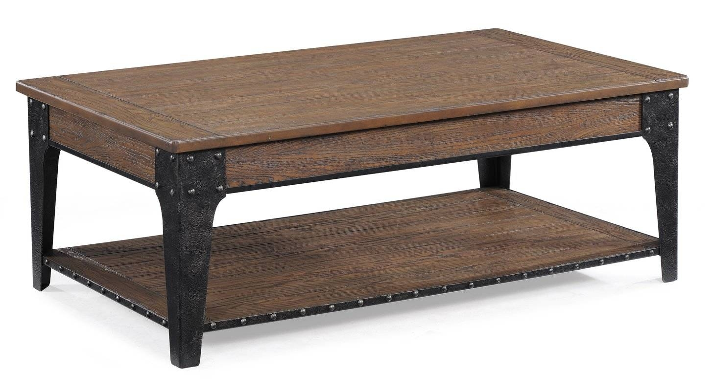 Magnussen Lakehurst Coffee Table With Lift Top & Reviews | Wayfair inside Hinged Top Coffee Tables (Image 18 of 30)