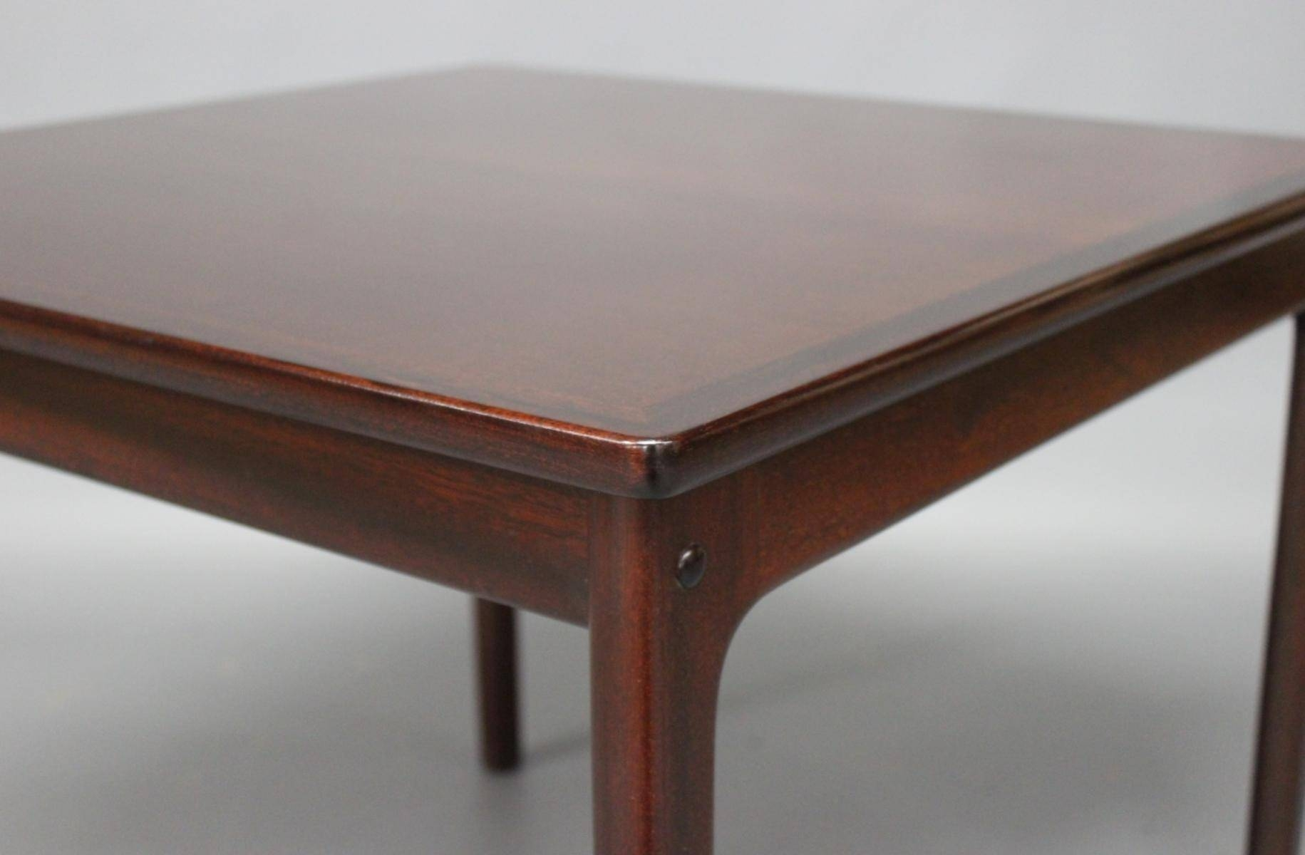 Mahogany Coffee Tableole Wanscher For P. Jeppesen, 1960S For pertaining to Mahogany Coffee Tables (Image 27 of 30)