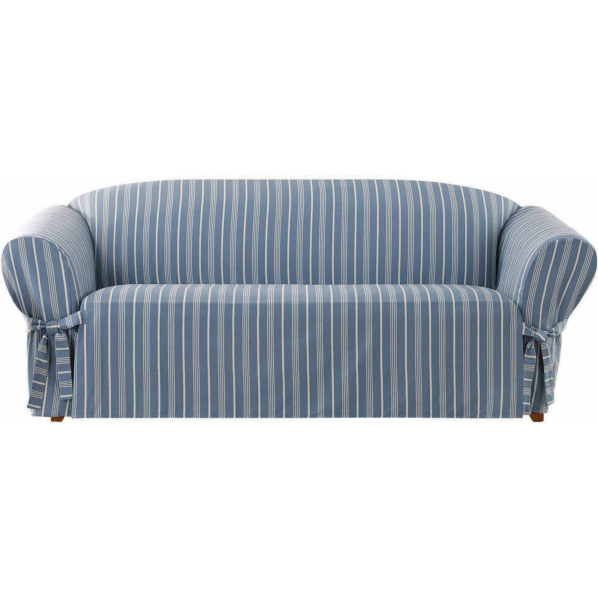 Mainstays 1-Piece Stretch Fabric Sofa Slipcover - Walmart pertaining to Wallmart Sofa (Image 19 of 25)