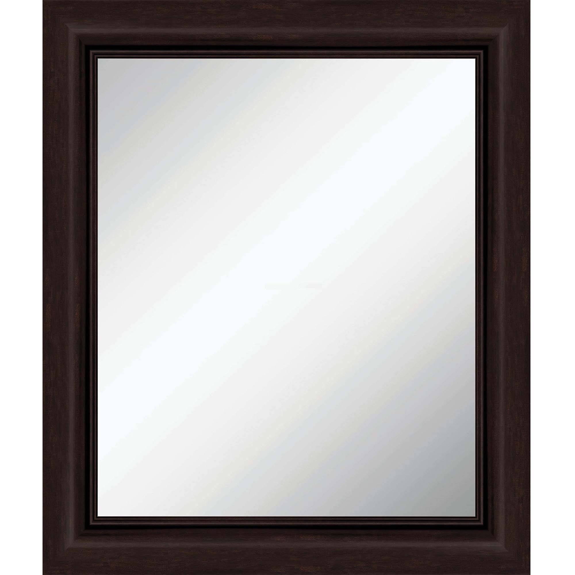 Mainstays 5-Piece Mirror Set, Black - Walmart intended for Unusual Shaped Mirrors (Image 13 of 25)