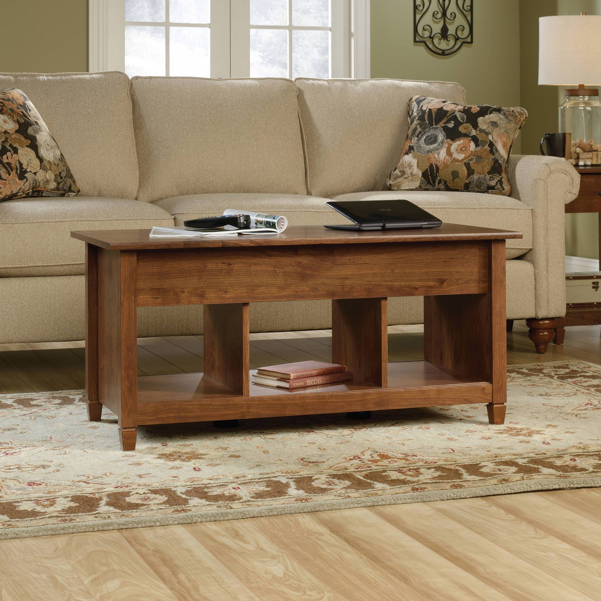 Mainstays Lift-Top Coffee Table, Multiple Colors - Walmart regarding Coffee Tables Extendable Top (Image 20 of 30)