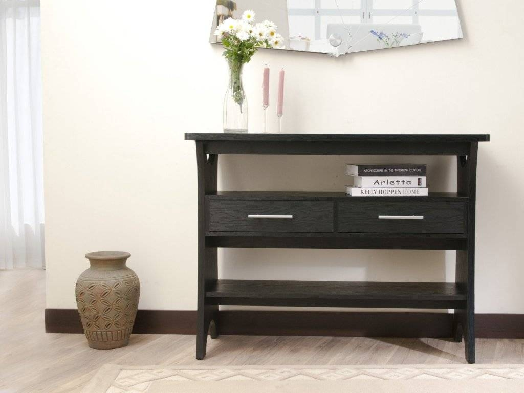 Make A Sofa Table With Storage | Babytimeexpo Furniture regarding Sofa Table Drawers (Image 14 of 30)