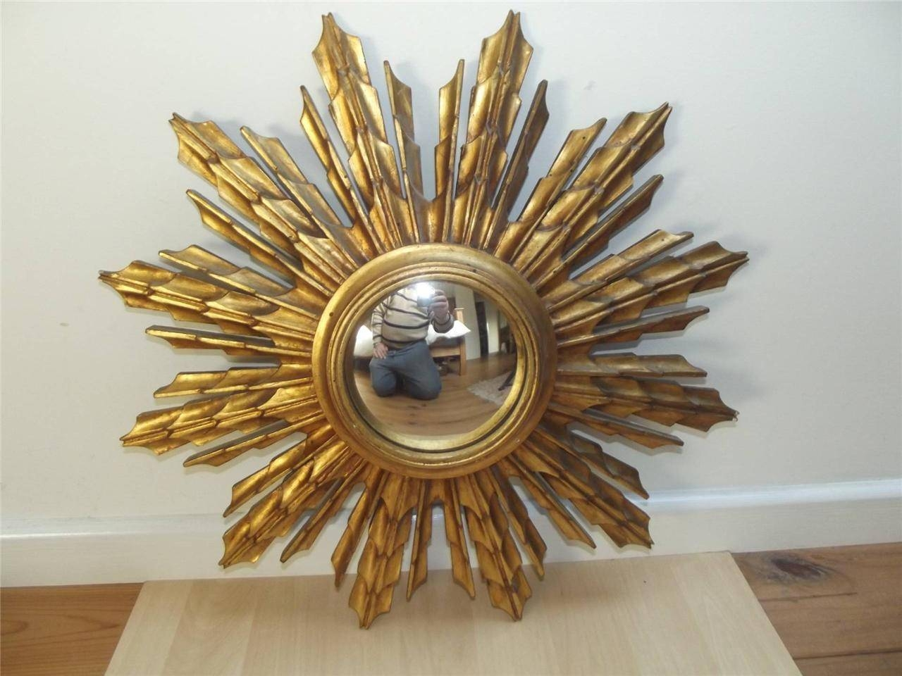 Make A Vintage Starburst Mirror — Interior Home Design For Bronze Starburst Mirrors (View 15 of 25)