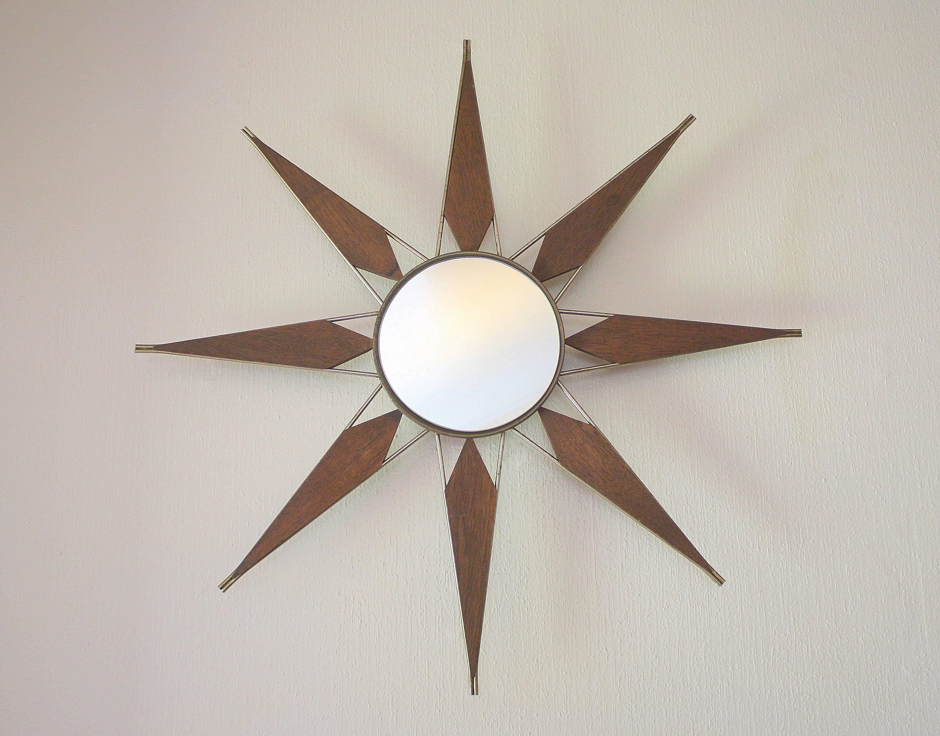 Make A Vintage Starburst Mirror — Interior Home Design Intended For Bronze Starburst Mirrors (View 16 of 25)
