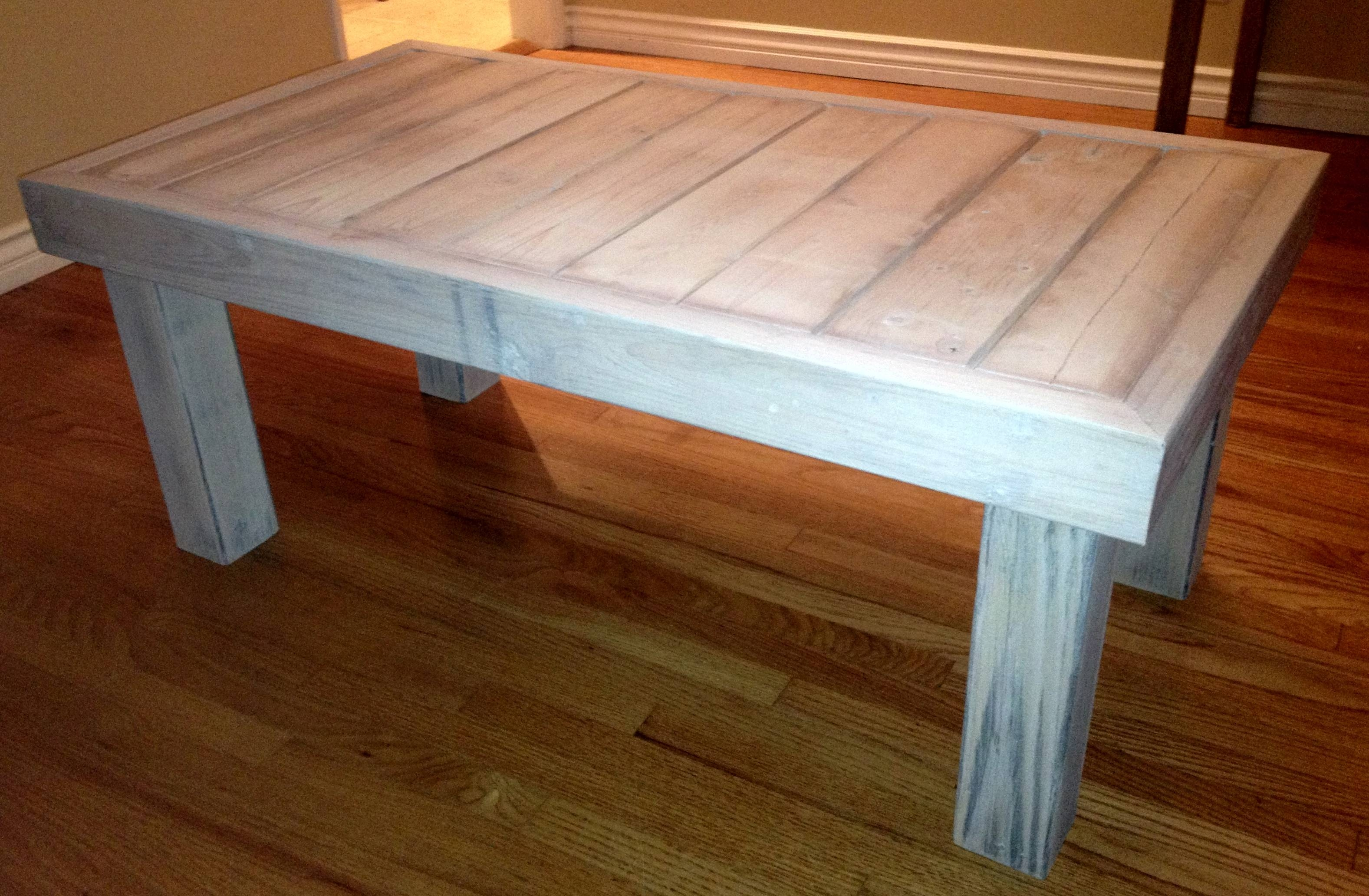 Making A Coffee Table From Reclaimed Wood | Coffee Tables Decoration in Cheap Wood Coffee Tables (Image 24 of 30)