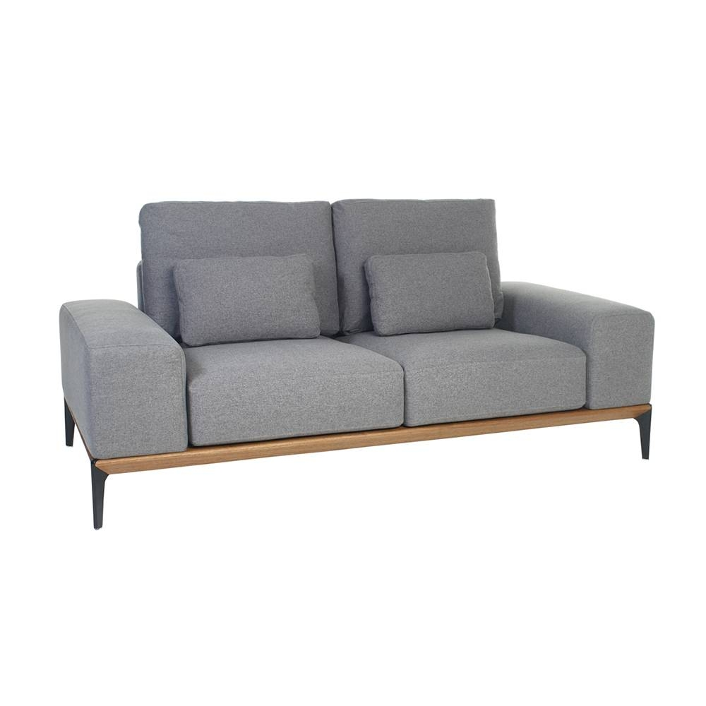 Malmo Two Seater Sofa Grey - Dwell intended for Two Seater Sofas (Image 17 of 30)