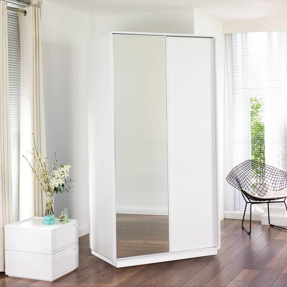 Best 15  of White 3 Door Wardrobes With Mirror