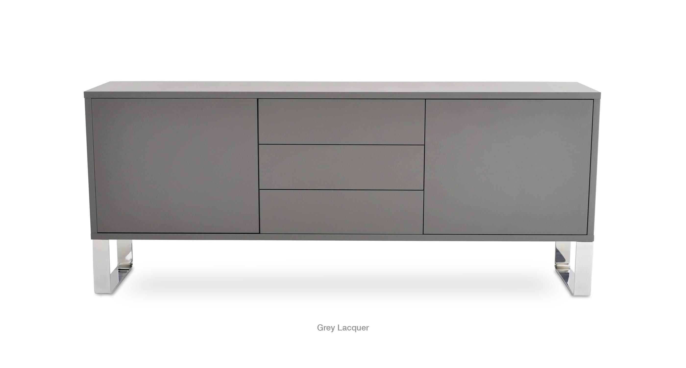 Malta Sideboard | Modern Furniture | Sohoconcept inside Black And Walnut Sideboards (Image 21 of 30)