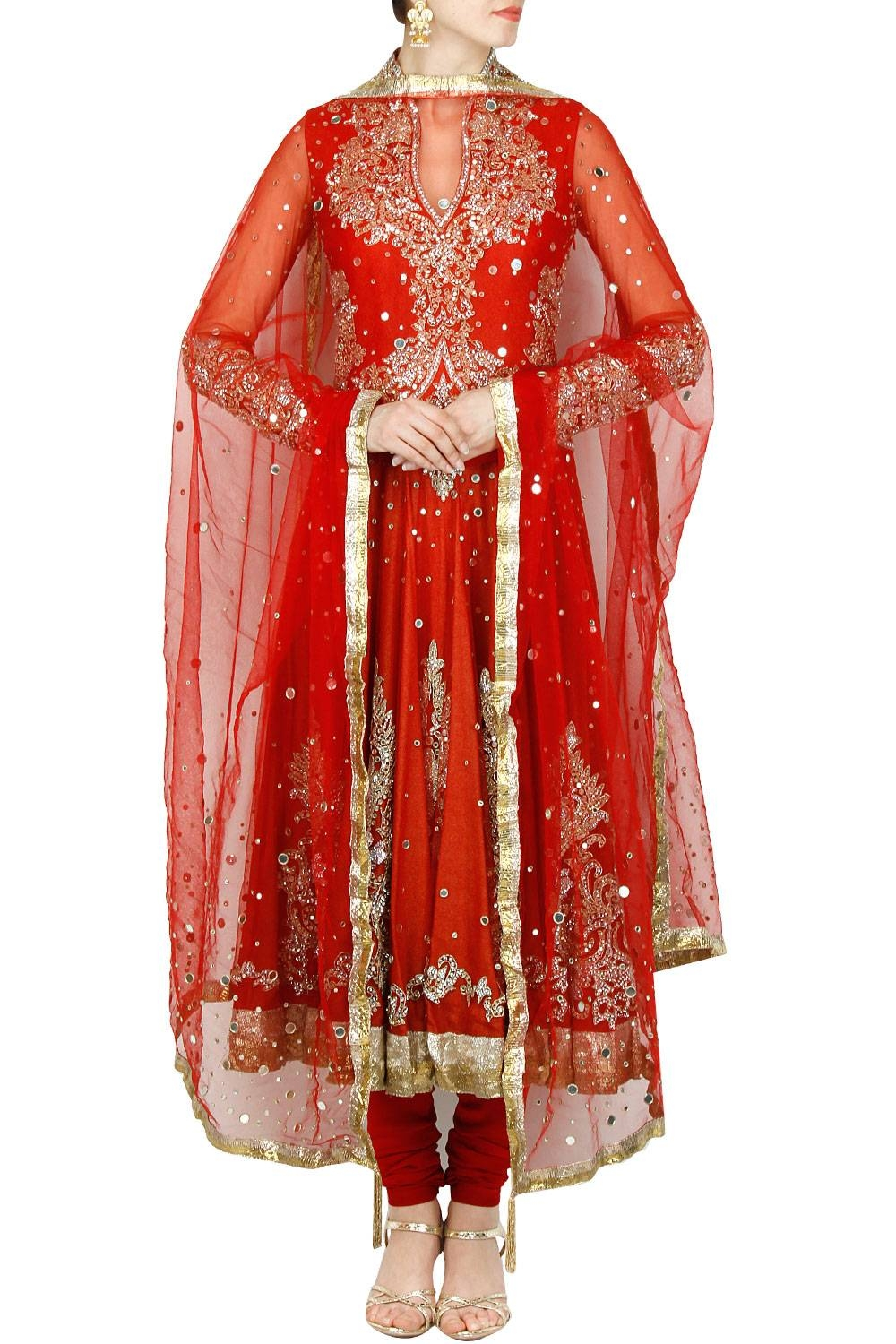 Manav Gangwani Indian Designer Online Latest Collection Of Anarkalis intended for Red Mirrors (Image 16 of 25)