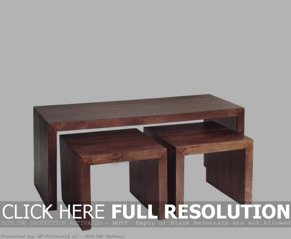 Mango Coffee Table / Coffee Tables / Thippo intended for Dark Mango Coffee Tables (Image 18 of 30)