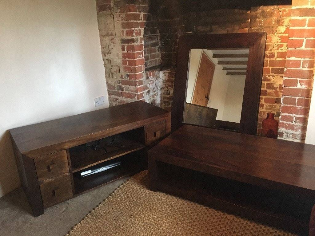 Mango Wood Furniture Coffee Table / Tv Stand / Mirror | In Diss with Mango Coffee Tables (Image 21 of 30)