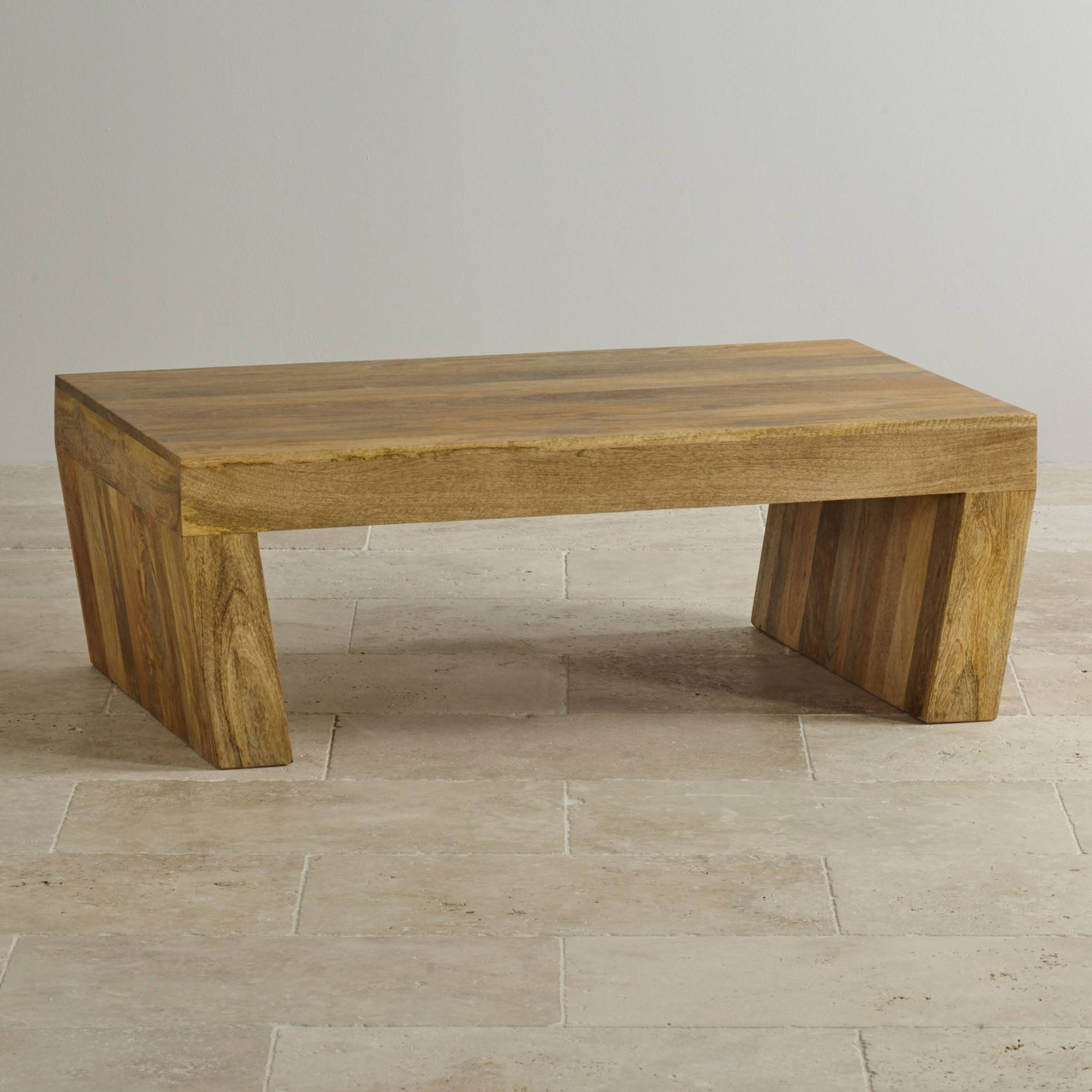 Mantis Light Coffee Table In Solid Mango | Oak Furniture Land for Mango Wood Coffee Tables (Image 19 of 30)