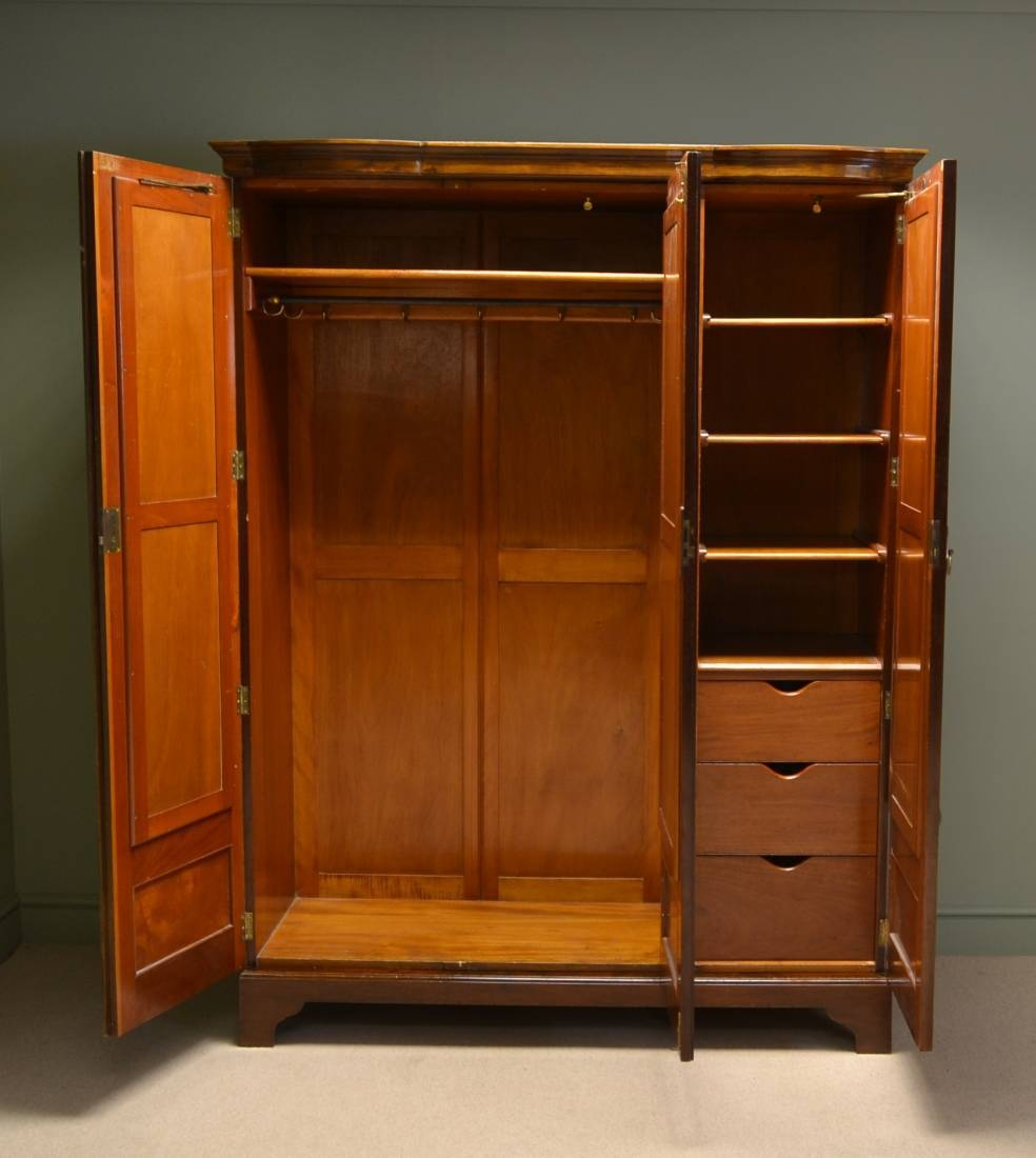 Maple & Co Antique Furniture - Antiques World within Old Fashioned Wardrobes for Sale (Image 10 of 15)