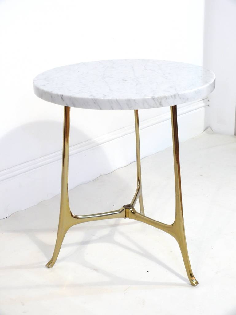 Marble Base Glass Top Coffee Table | Coffee Tables Decoration with Antique Brass Glass Coffee Tables (Image 28 of 37)