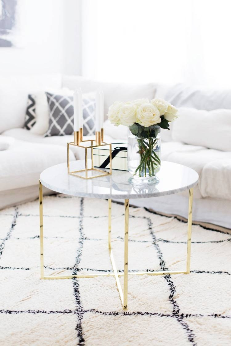 Marble Coffee Tables For Every Budget - The Everygirl with Marble Coffee Tables (Image 24 of 30)