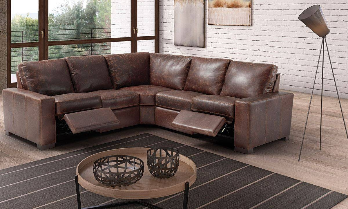 Marinelli Maryland Power Reclining Top Grain Italian Leather with Sofa Maryland (Image 4 of 25)
