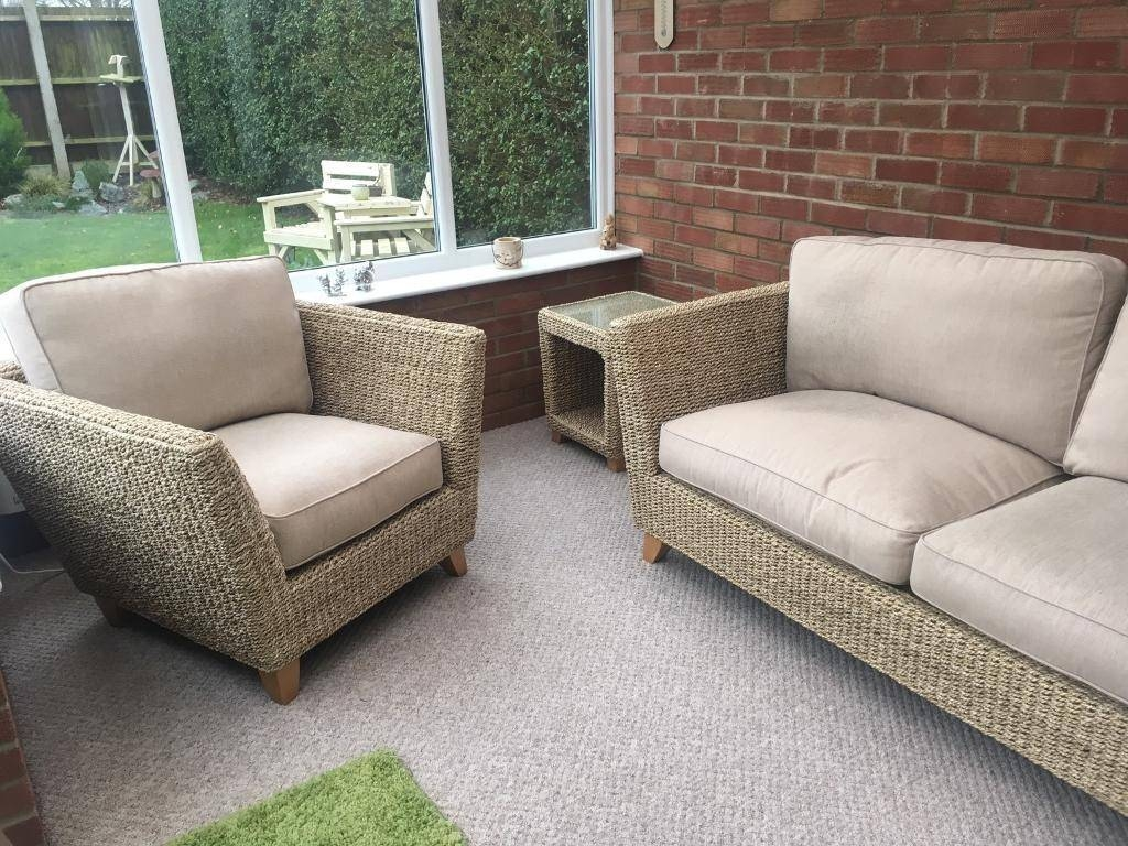 Marks And Spencer Conservatory Furniture Set. As New Condition for Marks and Spencer Sofas and Chairs (Image 11 of 15)