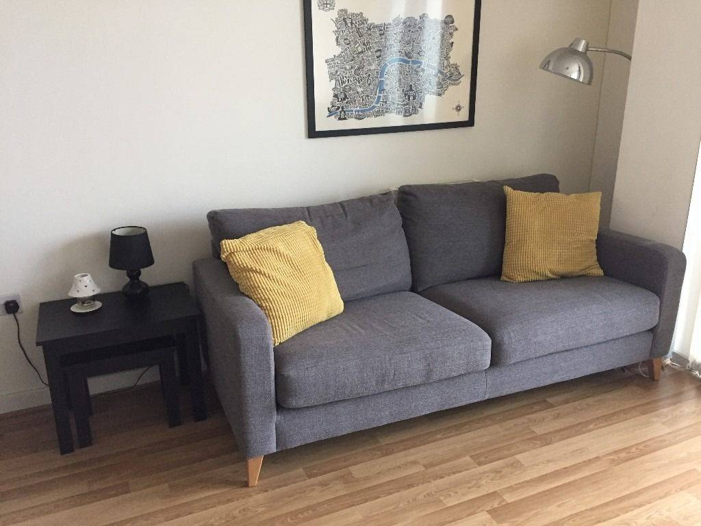 Marks & Spencer Grey Tromso Medium Sofa | In Stratford, London in Stratford Sofas (Image 15 of 30)