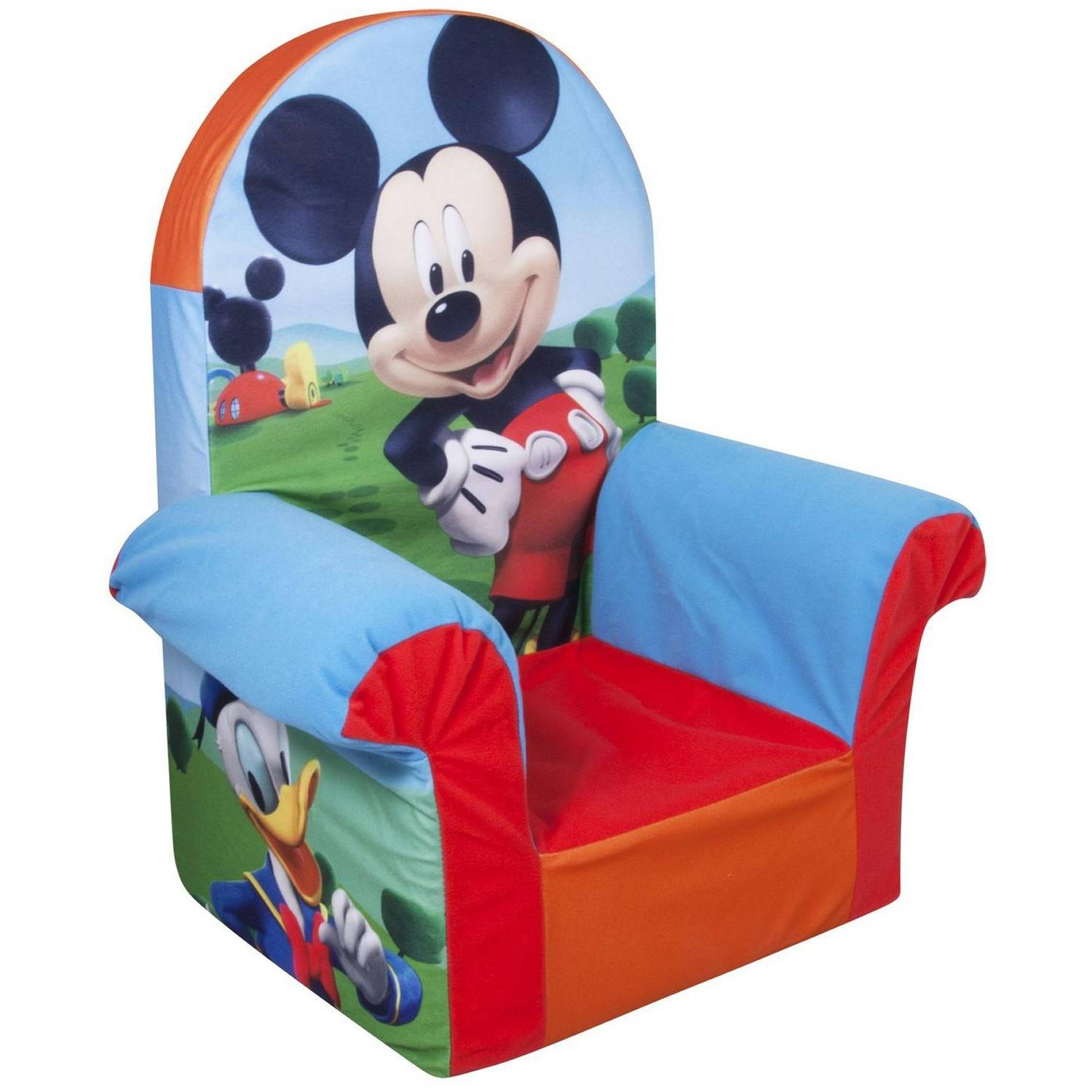 Marshmallow High Back Chair, Disney Doc Mcstuffins - Walmart pertaining to Disney Sofa Chairs (Image 11 of 15)