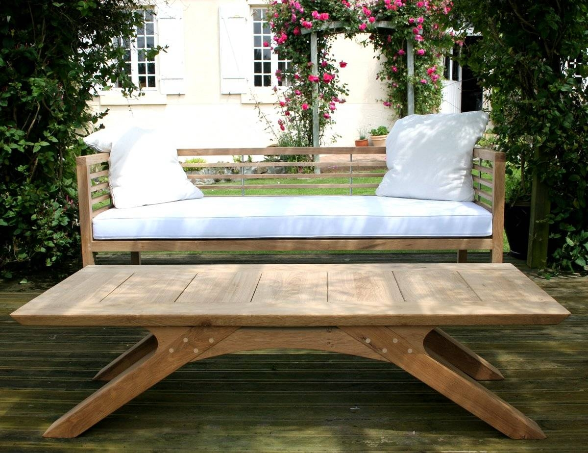 Marvelous Garden Coffee Table On Decorating Home Ideas With Garden with regard to Wooden Garden Coffee Tables (Image 18 of 30)