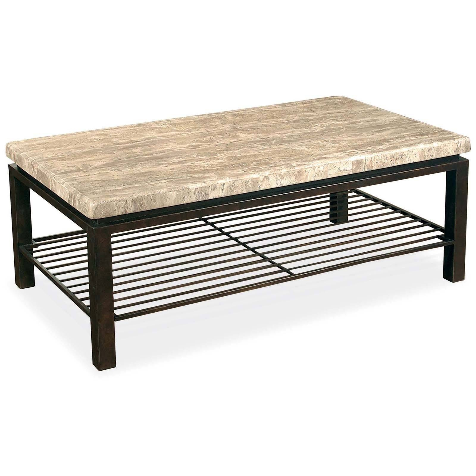 30 Best Ideas of Round Slate Top Coffee Tables