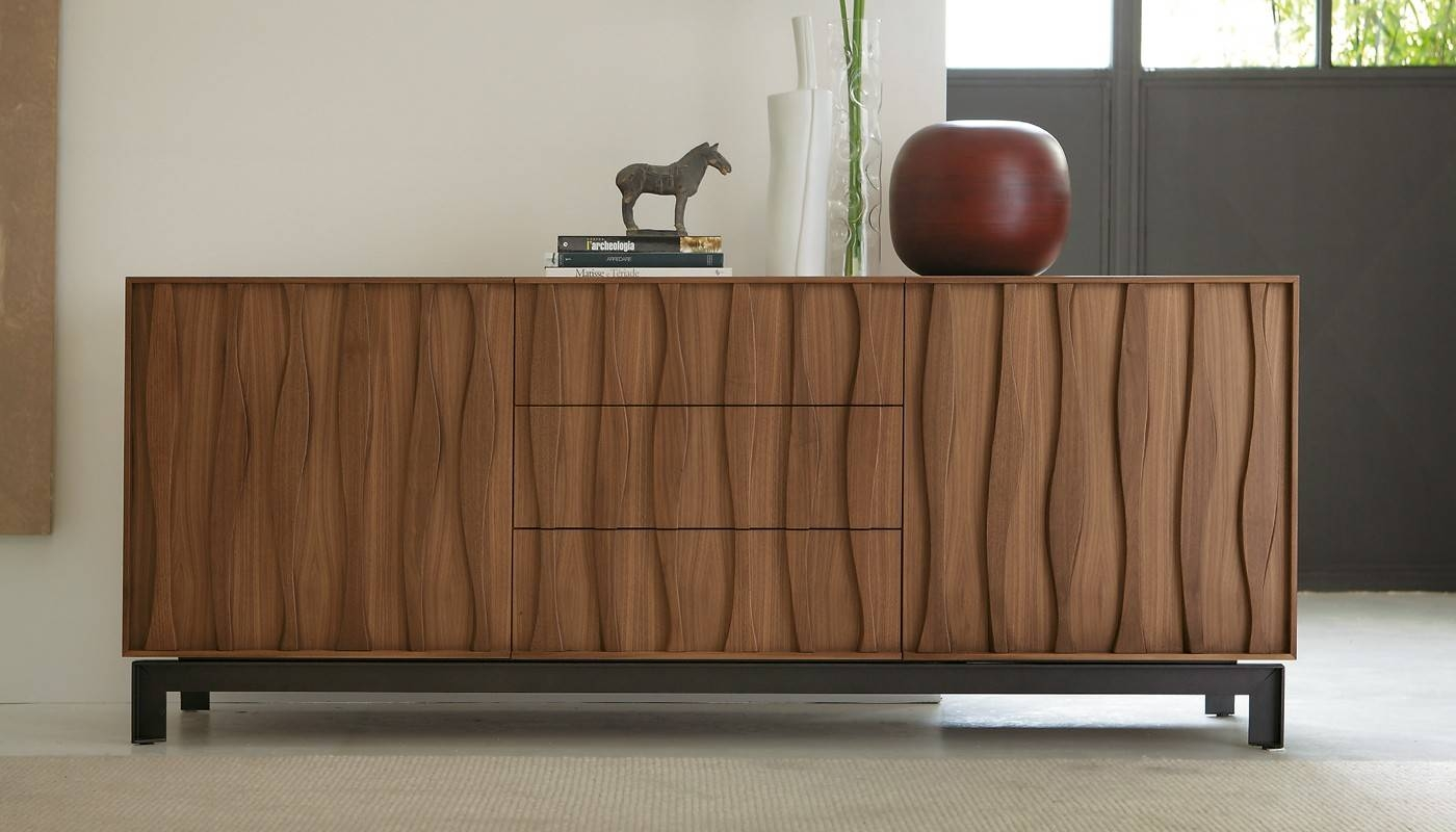 Masai Sideboard Walnut - Sideboards - Storage - Living Room for Ready Made Sideboards (Image 22 of 30)