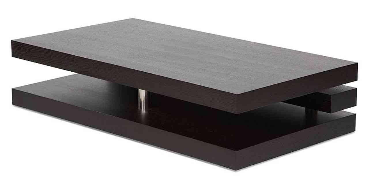 Masculine Dark Wood Coffee Table – Square Dark Wood Coffee Tables for Dark Coffee Tables (Image 28 of 30)
