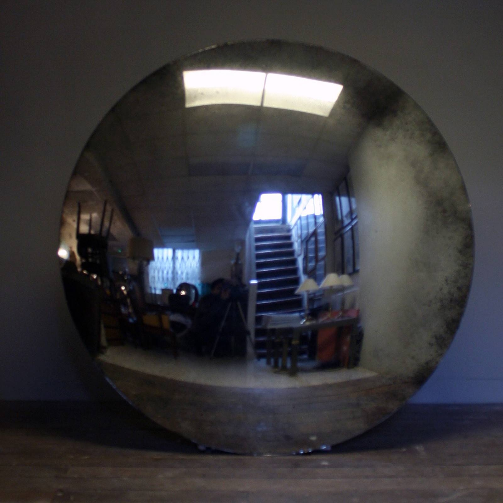 Massive!!! Convex Mirror - Decorative Collective throughout Large Convex Mirrors (Image 15 of 25)