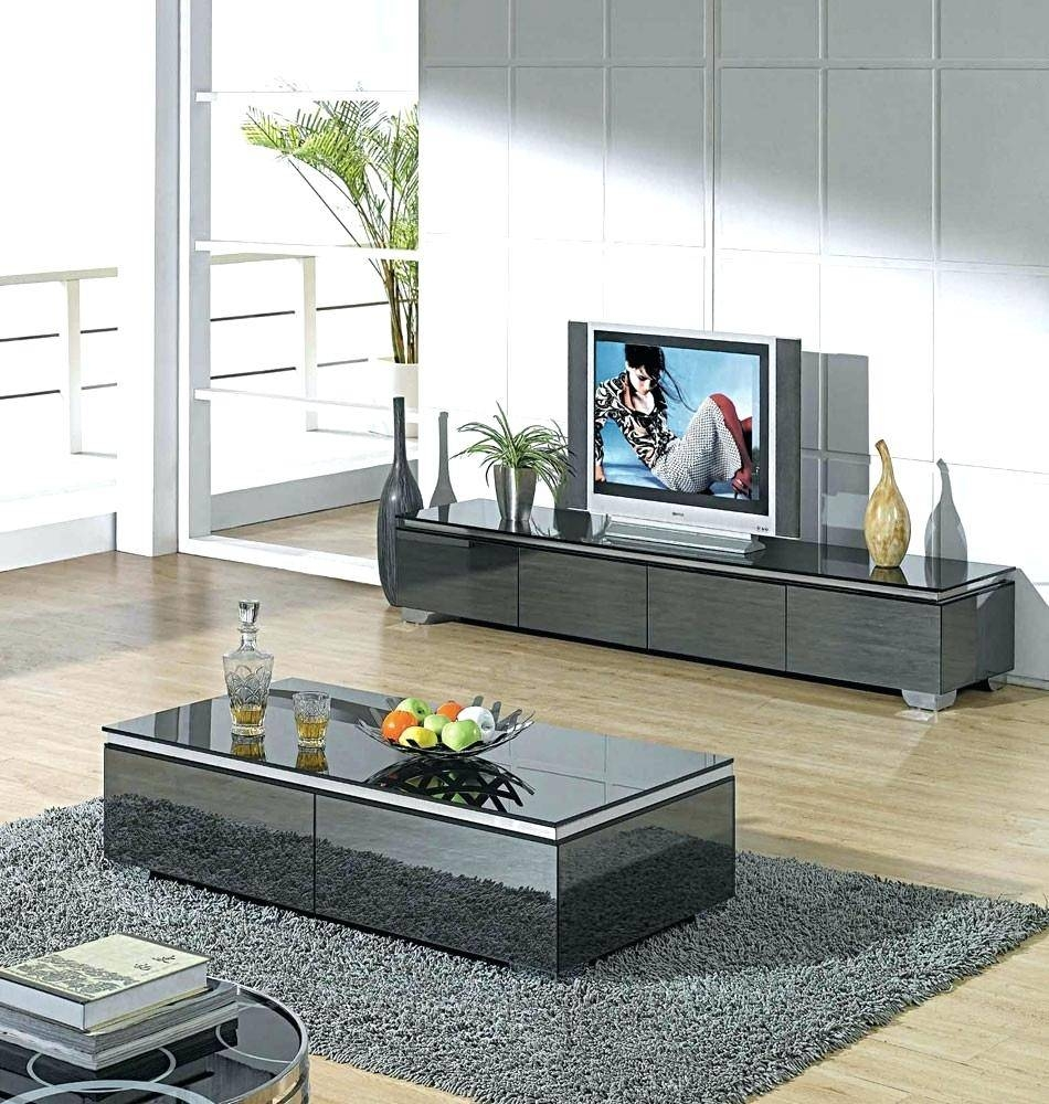 Popular Photo of Coffee Table And Tv Unit Sets