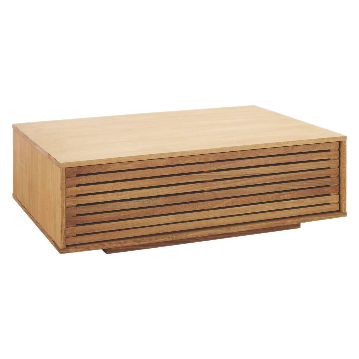 Max Oak Coffee Table | Buy Now At Habitat Uk Within Large Low Oak Coffee Tables (View 17 of 30)
