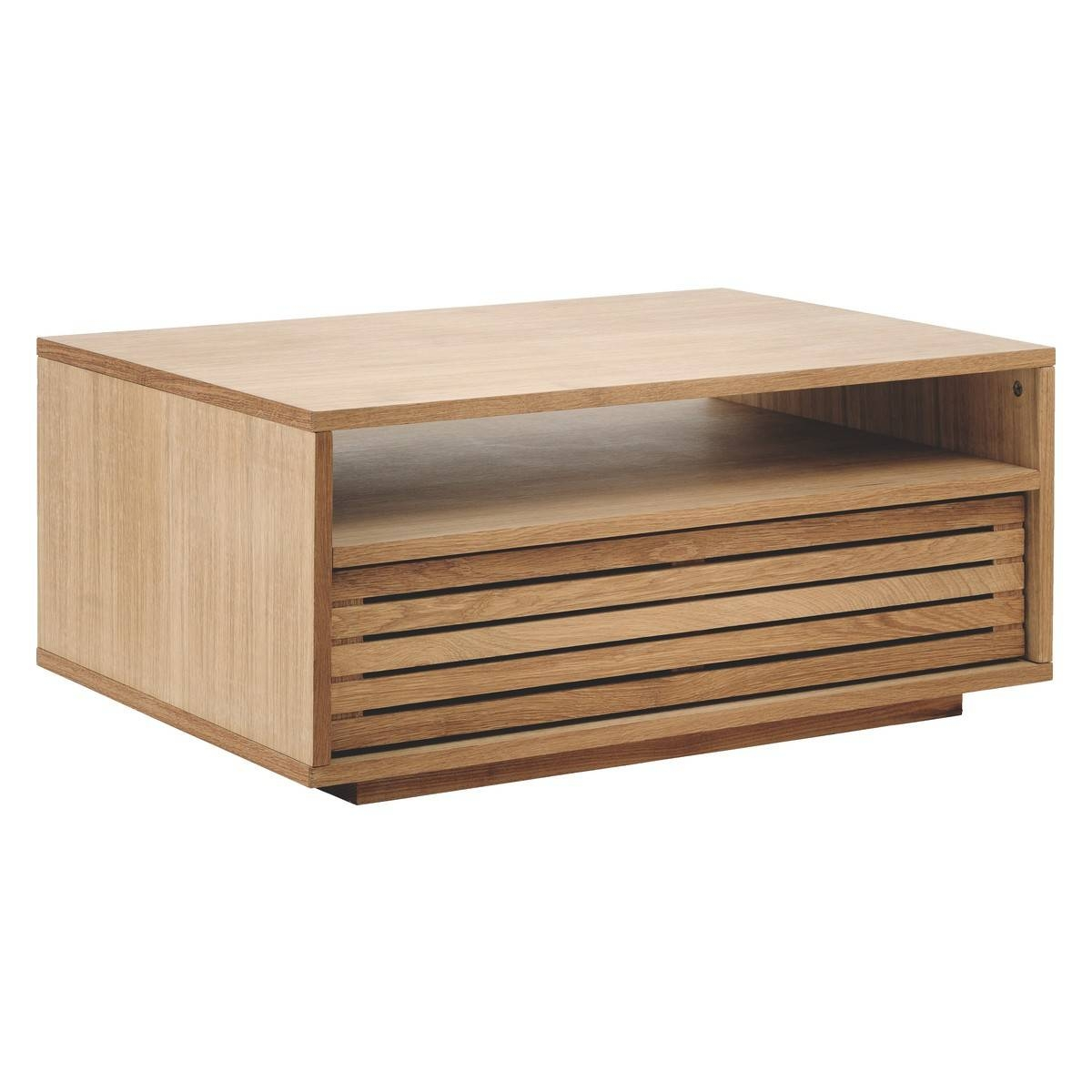Max Oak Coffee Table With Storage | Buy Now At Habitat Uk within Oak Coffee Table With Drawers (Image 6 of 15)