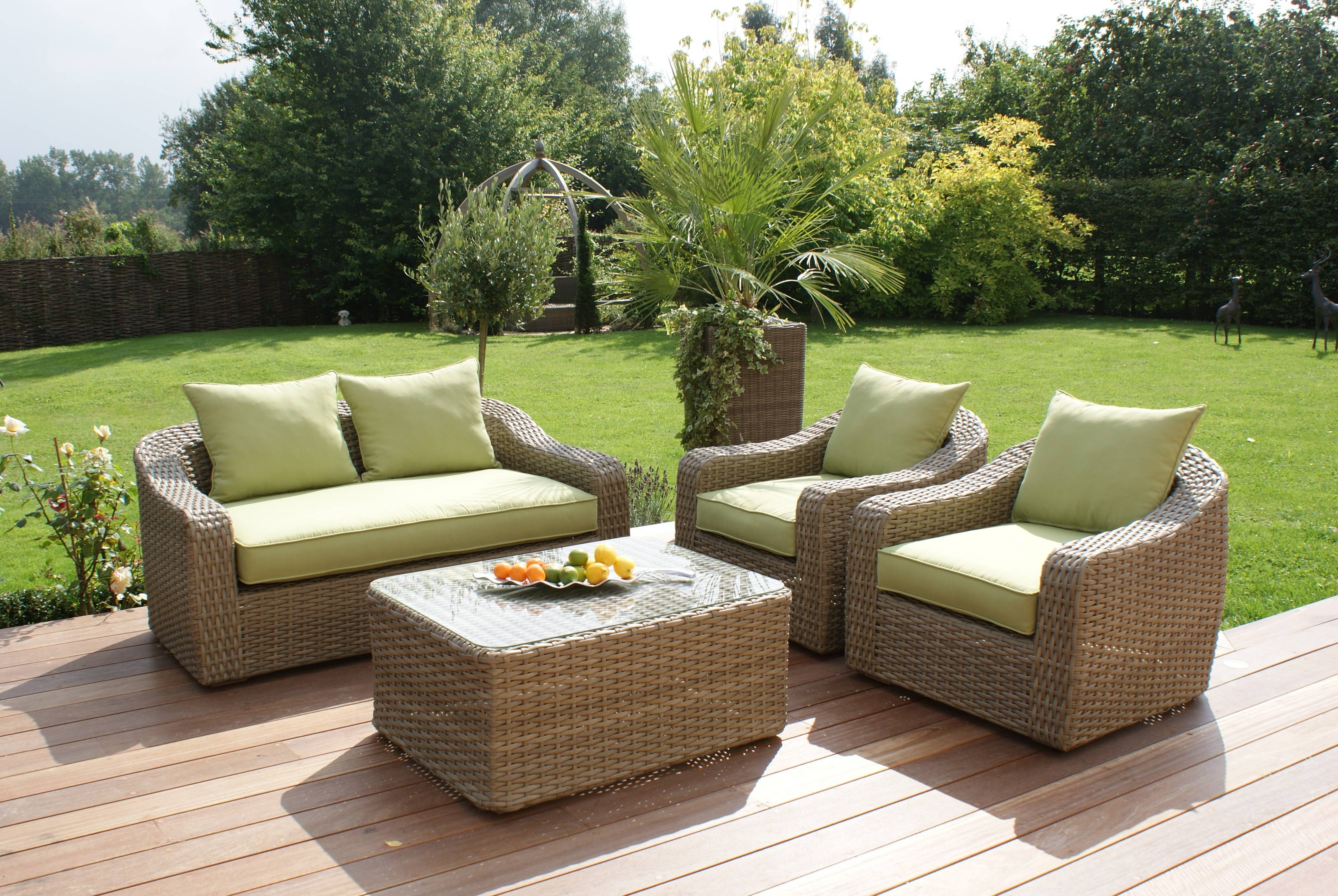 Maze Rattan Milan Rounded Sofa Set | Maze Living pertaining to Rounded Sofa (Image 11 of 25)