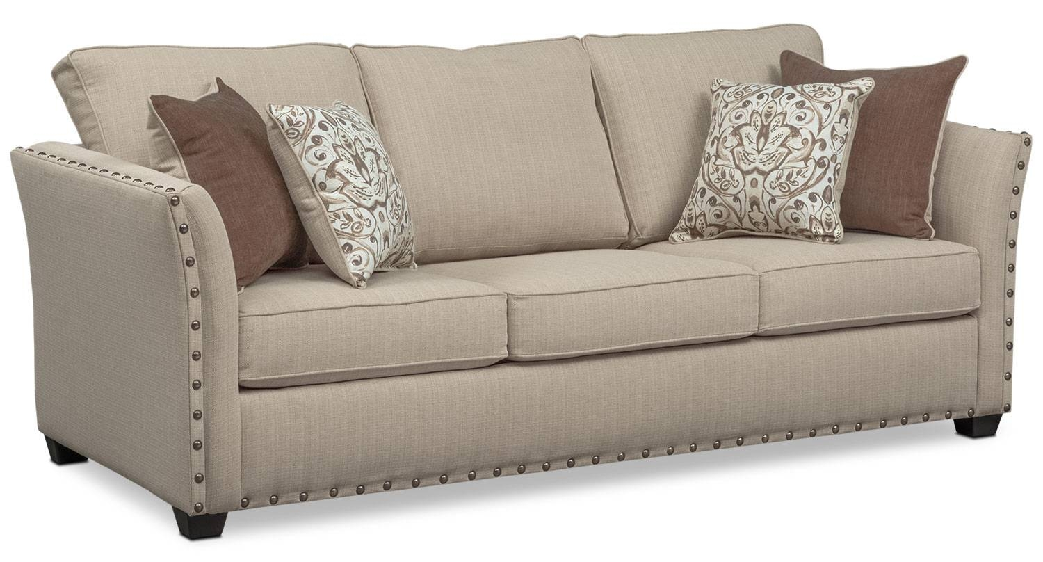 Mckenna Queen Memory Foam Sleeper Sofa, Loveseat, And Accent Chair pertaining to Loveseat Twin Sleeper Sofas (Image 18 of 30)