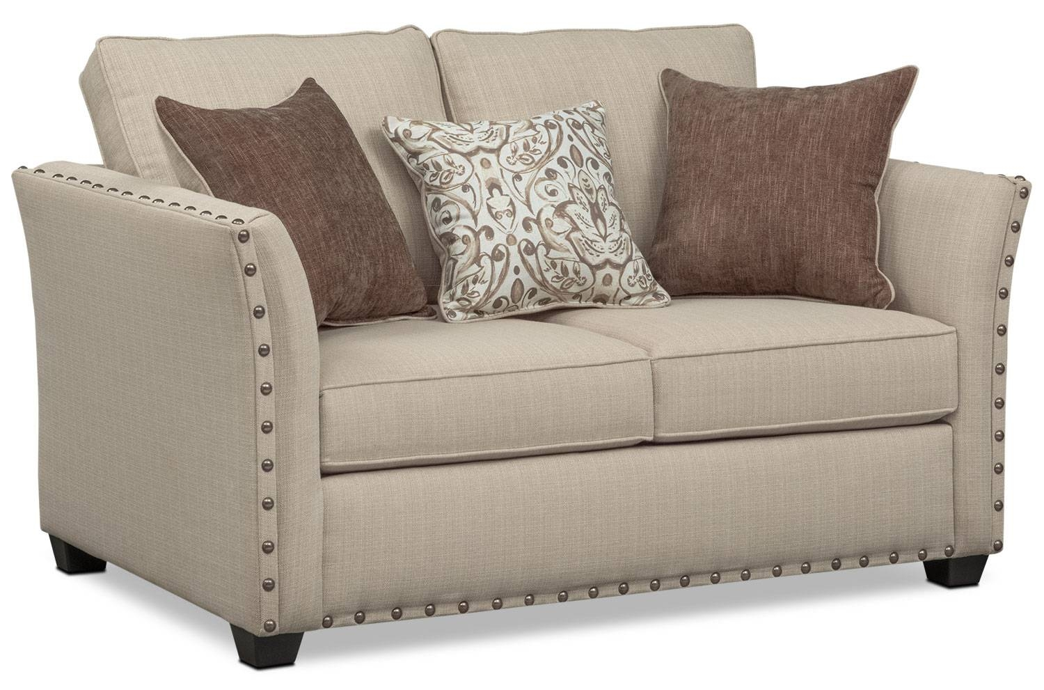 Mckenna Queen Memory Foam Sleeper Sofa, Loveseat, And Chair Set for Sofa and Chair Set (Image 21 of 30)