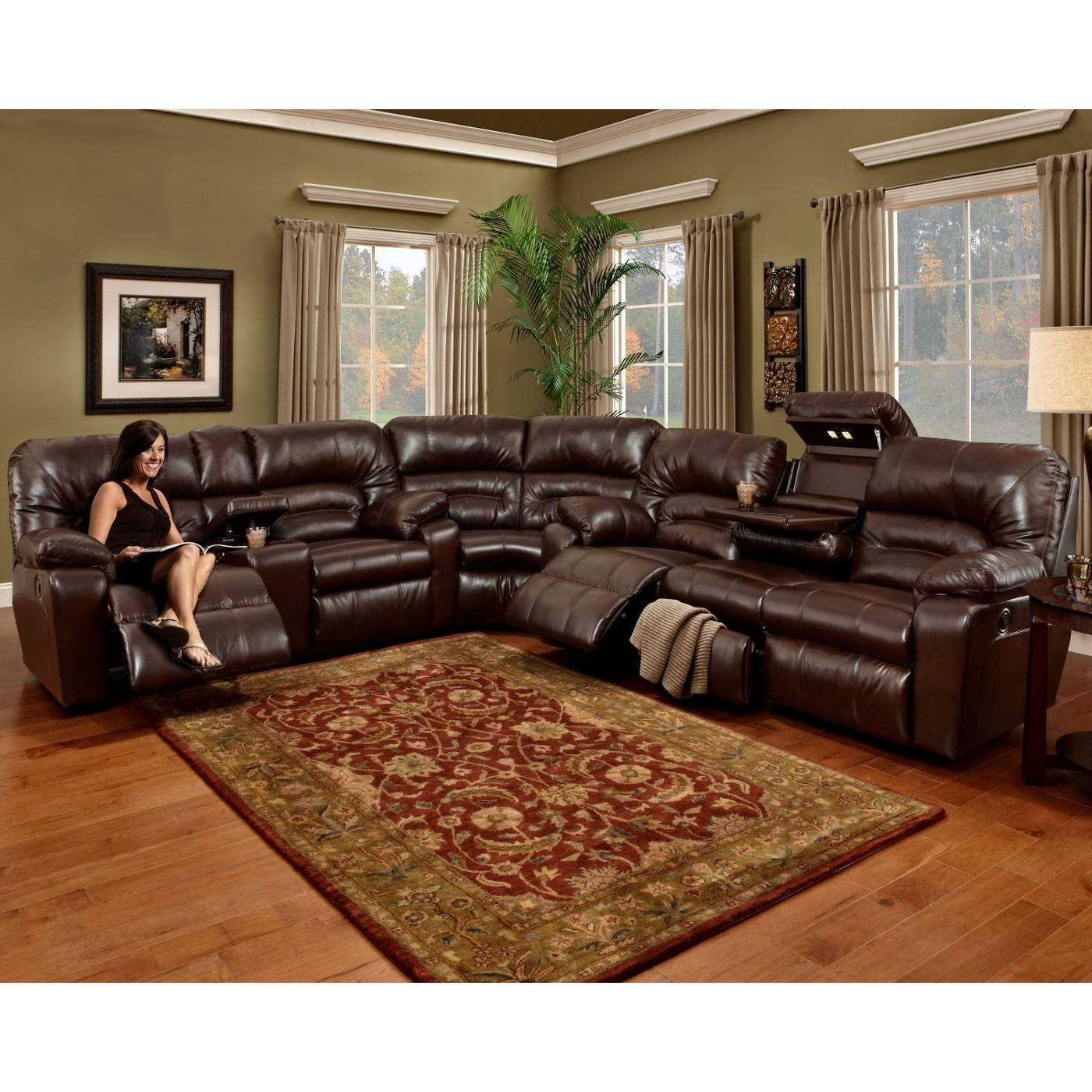 Media Room Sectional Sofas Artistic Color Decor Best With Media inside Media Room Sectional Sofas (Image 11 of 25)