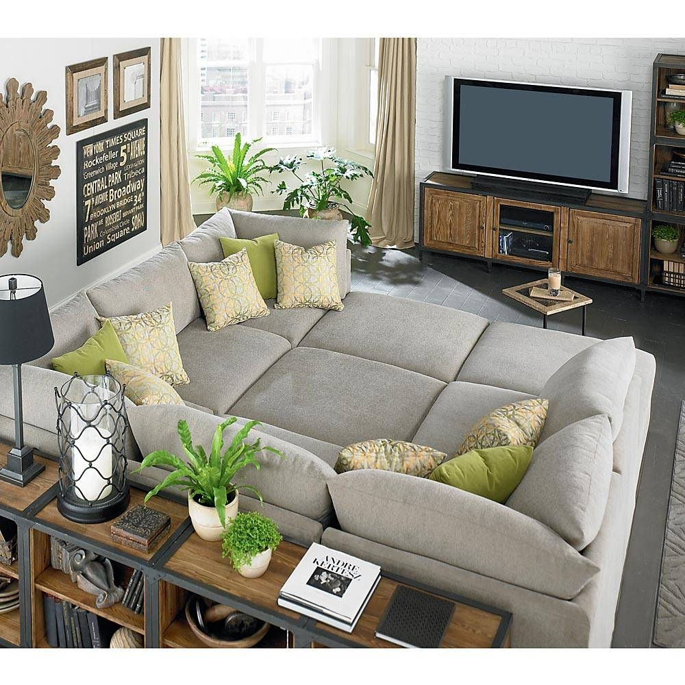 Media Room Sectional Sofas Style Home Design Modern With Media intended for Media Room Sectional Sofas (Image 12 of 25)