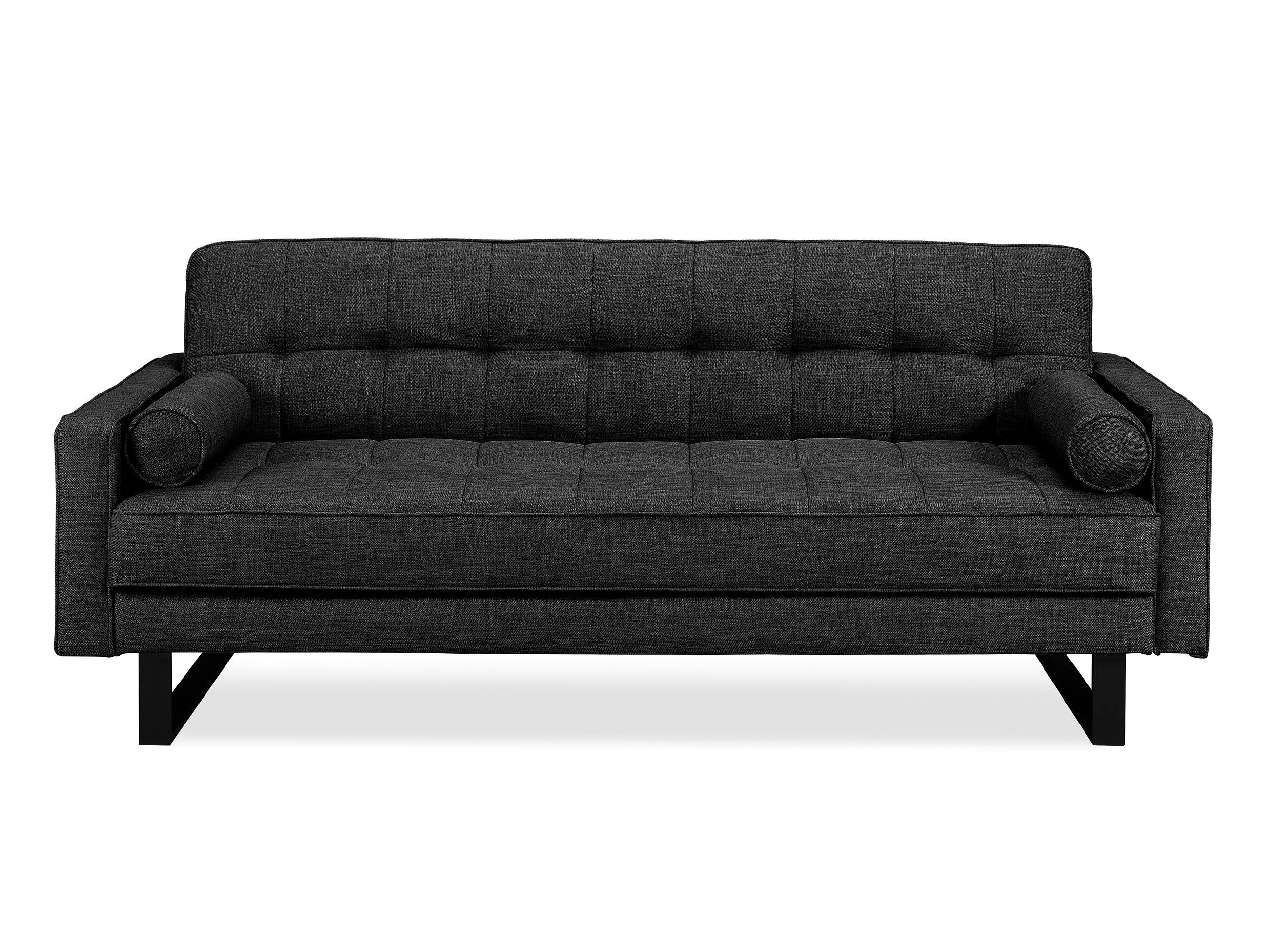 Medina Convertible Sofa Charcoal Greyserta / Lifestyle Within Charcoal Grey Sofas (View 16 of 30)