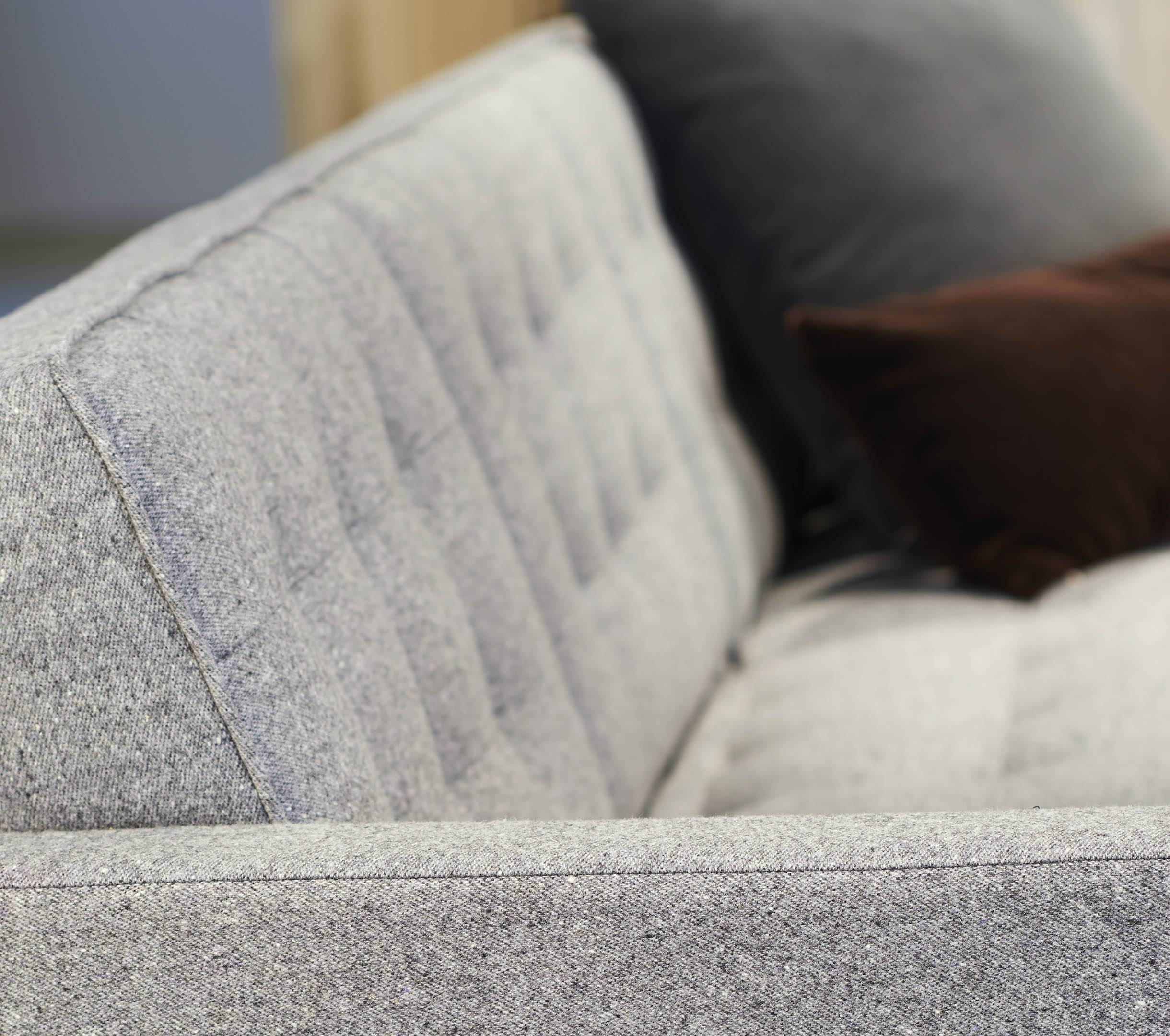 Melange Upholstery   Knolltextiles pertaining to Florence Knoll Fabric Sofas (Image 22 of 25)