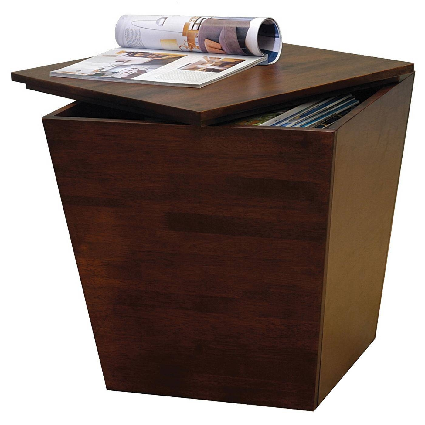 Mesa Storage Cube End Table Antique Coffee Tables Rattan Table with Coffee Tables With Rounded Corners (Image 18 of 30)