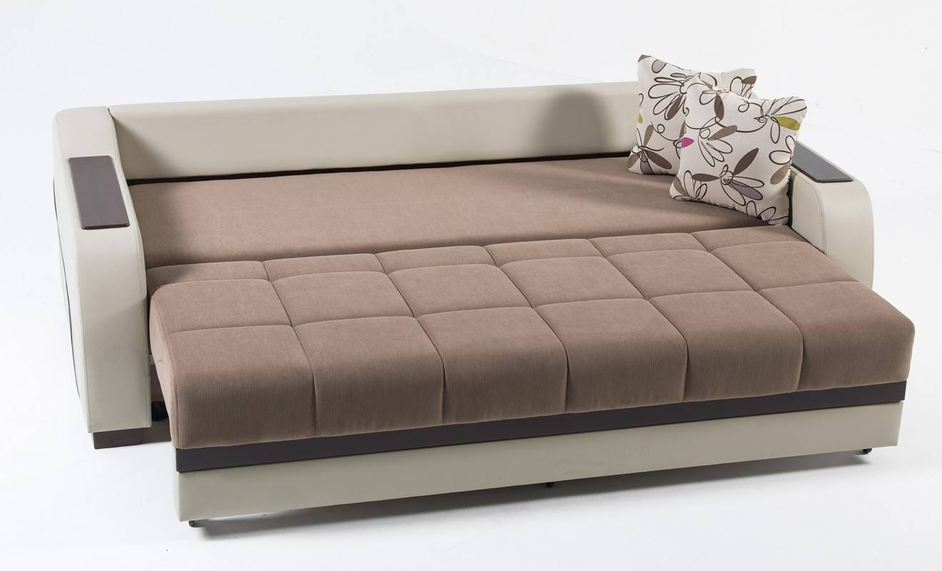 Metal Action Sofa Beds Uk - Leather Sectional Sofa intended for Luxury Sofa Beds (Image 12 of 30)