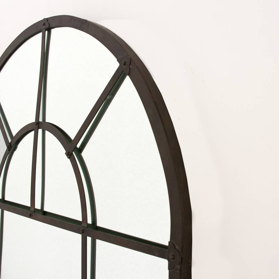 Metal Arch Mirrordecorative Mirrors Online with Arched Mirrors (Image 21 of 25)