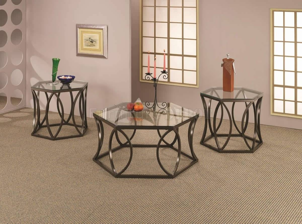 Metal Coffee Tables in Metal Glass Coffee Tables (Image 26 of 30)