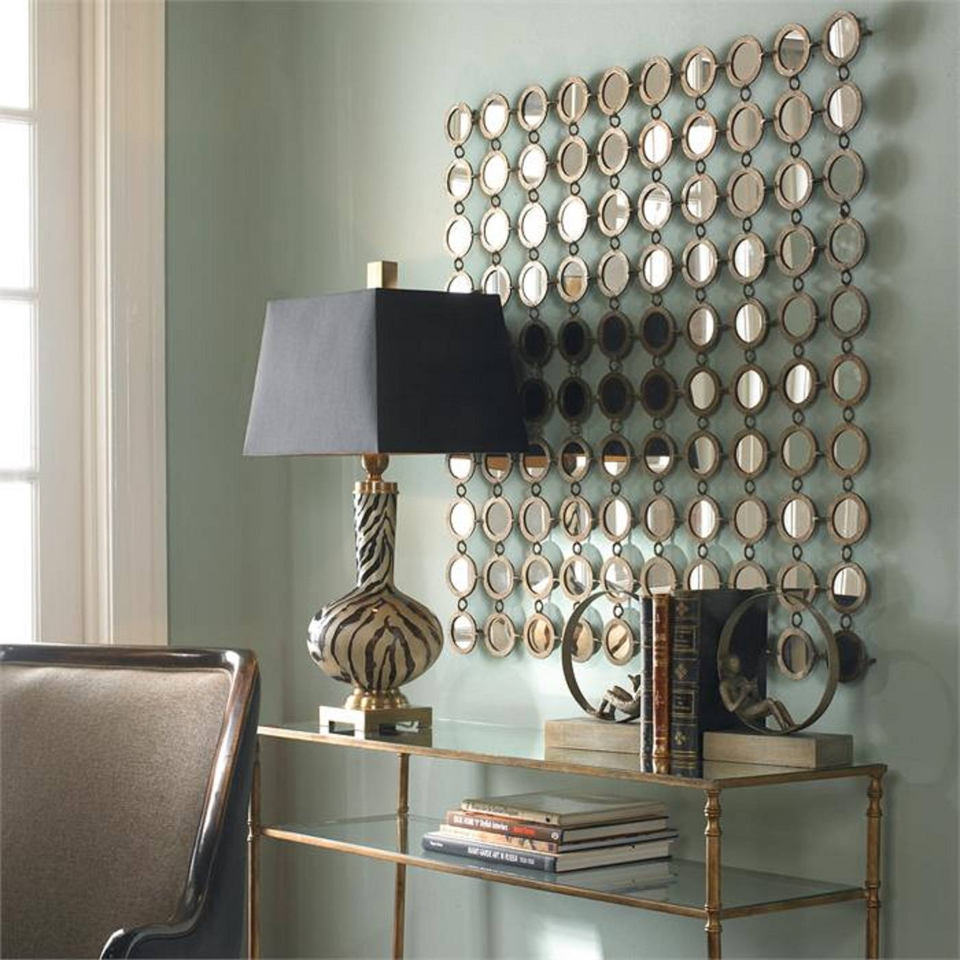 Metal Mirror Wall Decor | Jeffsbakery Basement & Mattress intended for Champagne Mirrors (Image 18 of 25)
