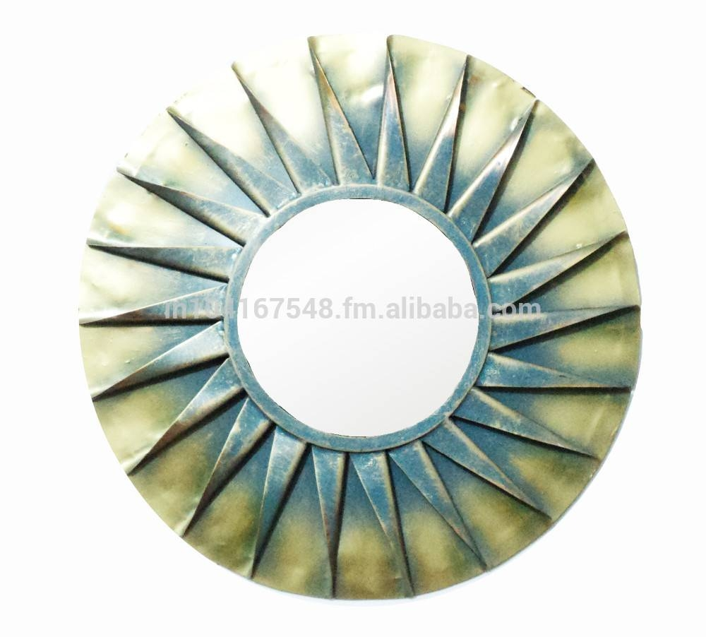 Metal Mirror Wall Decor - Shenra within Sun Mirrors (Image 13 of 25)