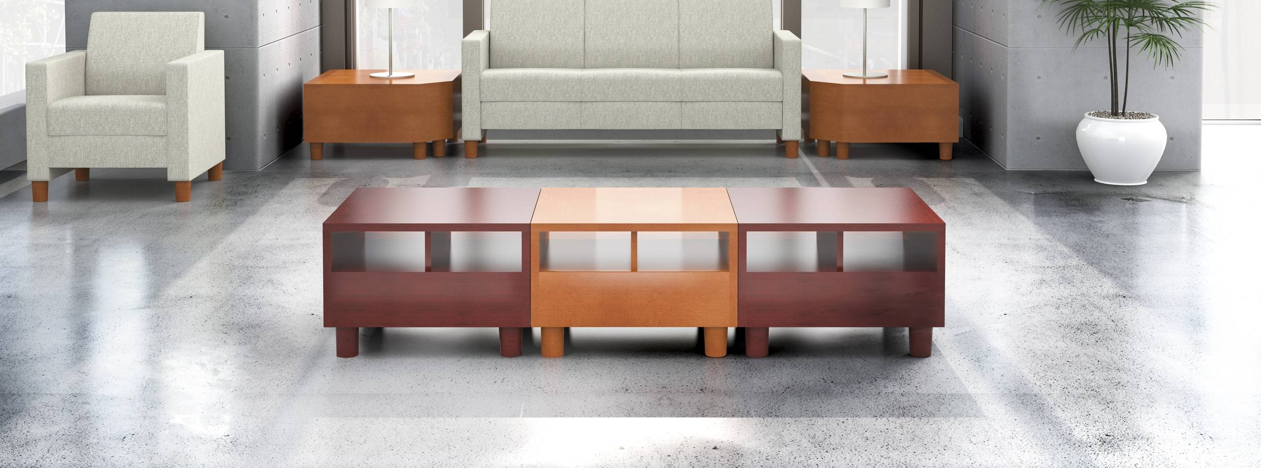 Mezzanine | Cube Tables | Corner, Coffee & End Tables | Ideon regarding Corner Coffee Tables (Image 23 of 30)
