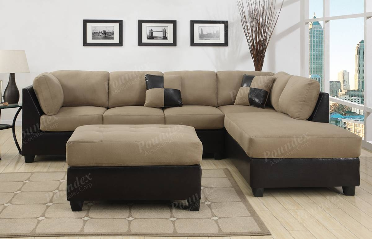 Microsuede Sectional Sofas 49 With Microsuede Sectional Sofas within Microsuede Sectional Sofas (Image 19 of 30)