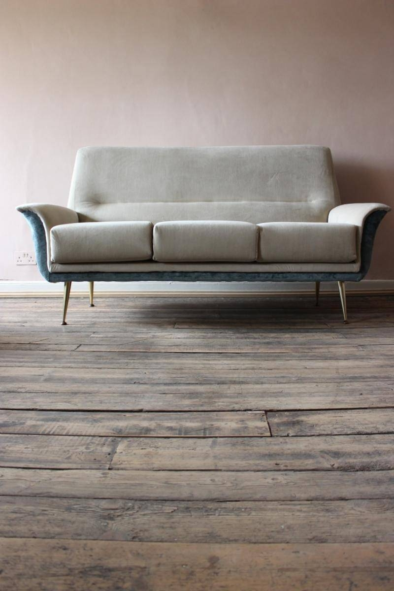Mid-Century Italian Two-Tone Sofa, 1950S For Sale At Pamono intended for Two Tone Sofas (Image 18 of 30)