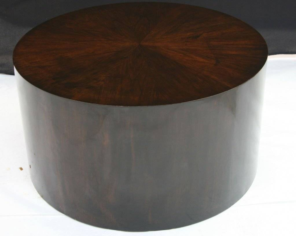 Mid Century Modern Coffee Tables And Cocktail Silver Drum Table throughout Silver Drum Coffee Tables (Image 22 of 30)